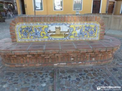 Ciudad de Vascos-Dolmen de Azután;mapas para senderismo paginas familiar